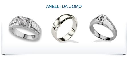 anelli online da uomo
