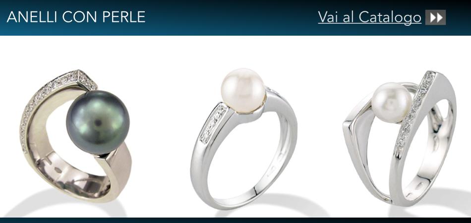 anelli perle