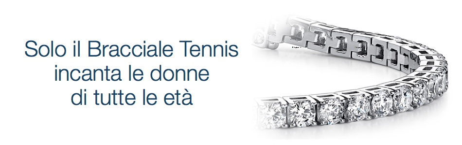vendita bracciali tennis