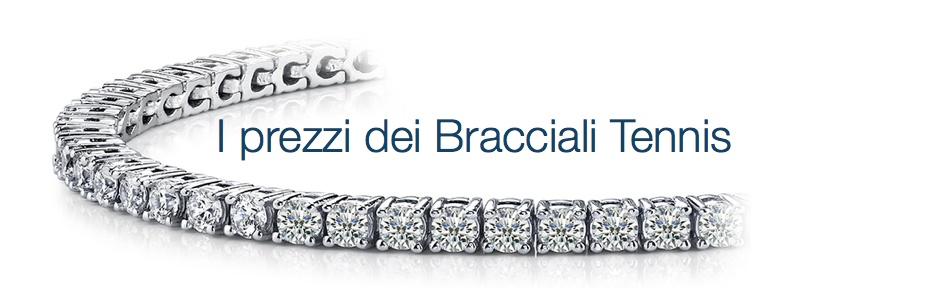 San Francisco qualità affidabile vendita a buon mercato nel Regno Unito Bracciali tennis con diamanti - Torino Gioielli
