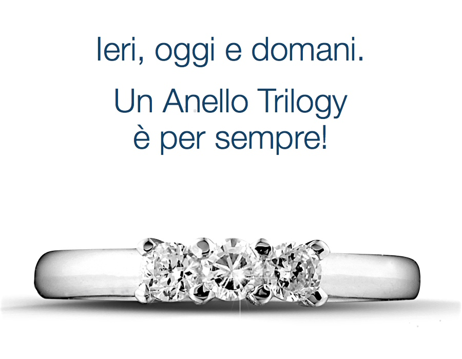 gioielli italiani anelli trilogy