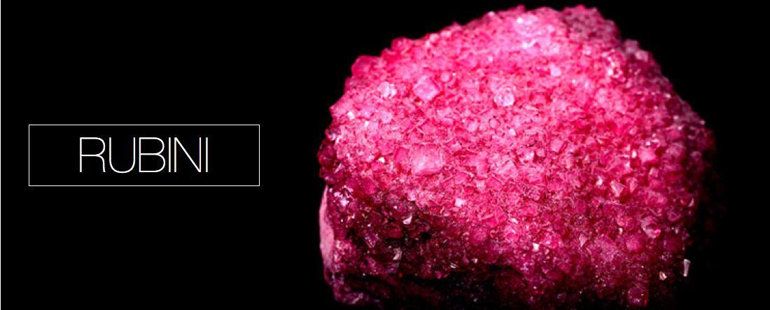 pietre preziose rubini