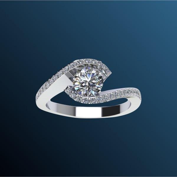 anelli di fidanzamento solitari