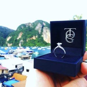 anello di fidanzamento gioielleria Torino Gioielli