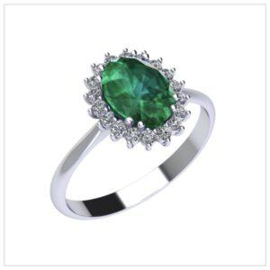 anelli smeraldi