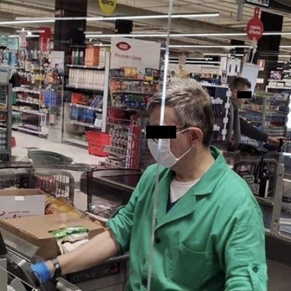 dipendenti dei supermercati eroi del coronavirus