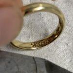 anelli incisi