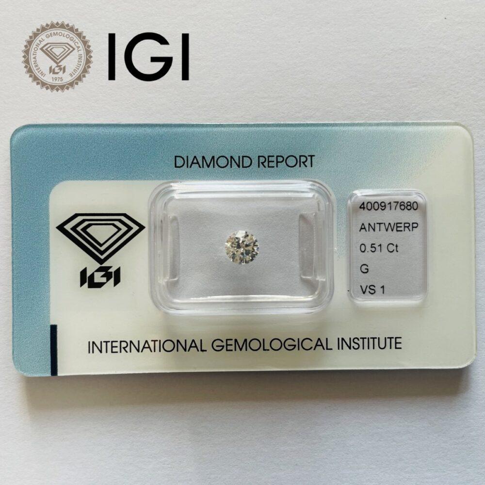 Diamante 0.51 G Vs1