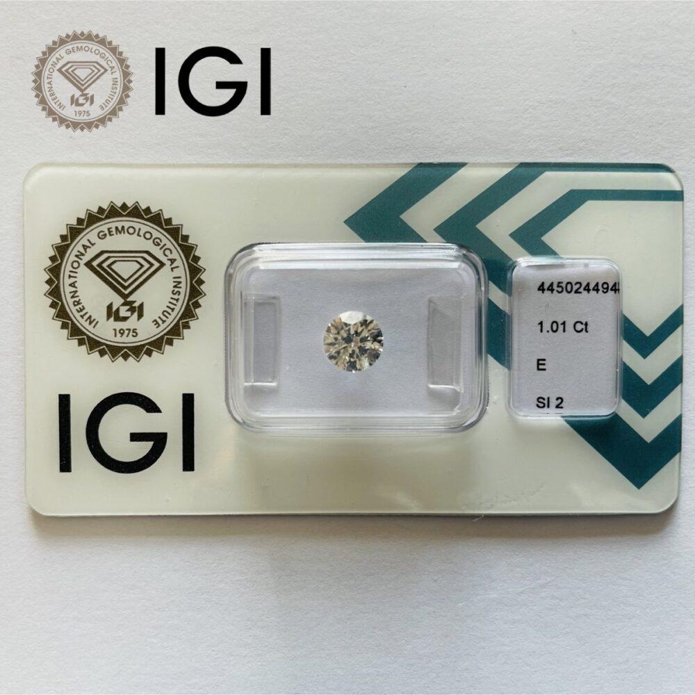 Diamante 0.01 ct E Si2