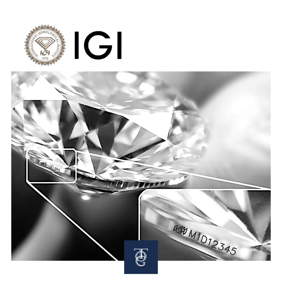 diamante igi iscrizione laser