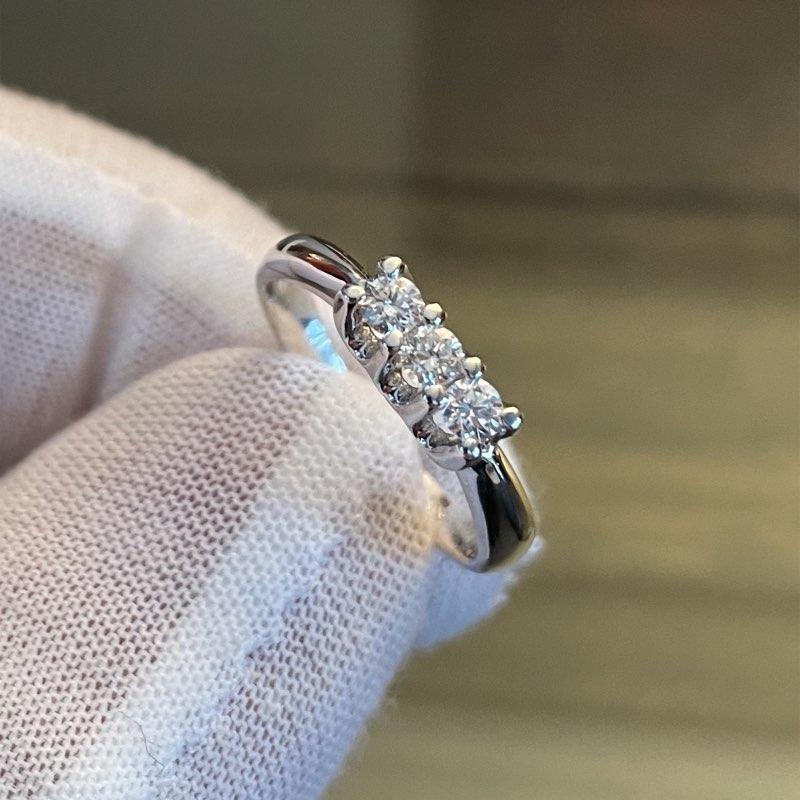 trilogy anello diamanti