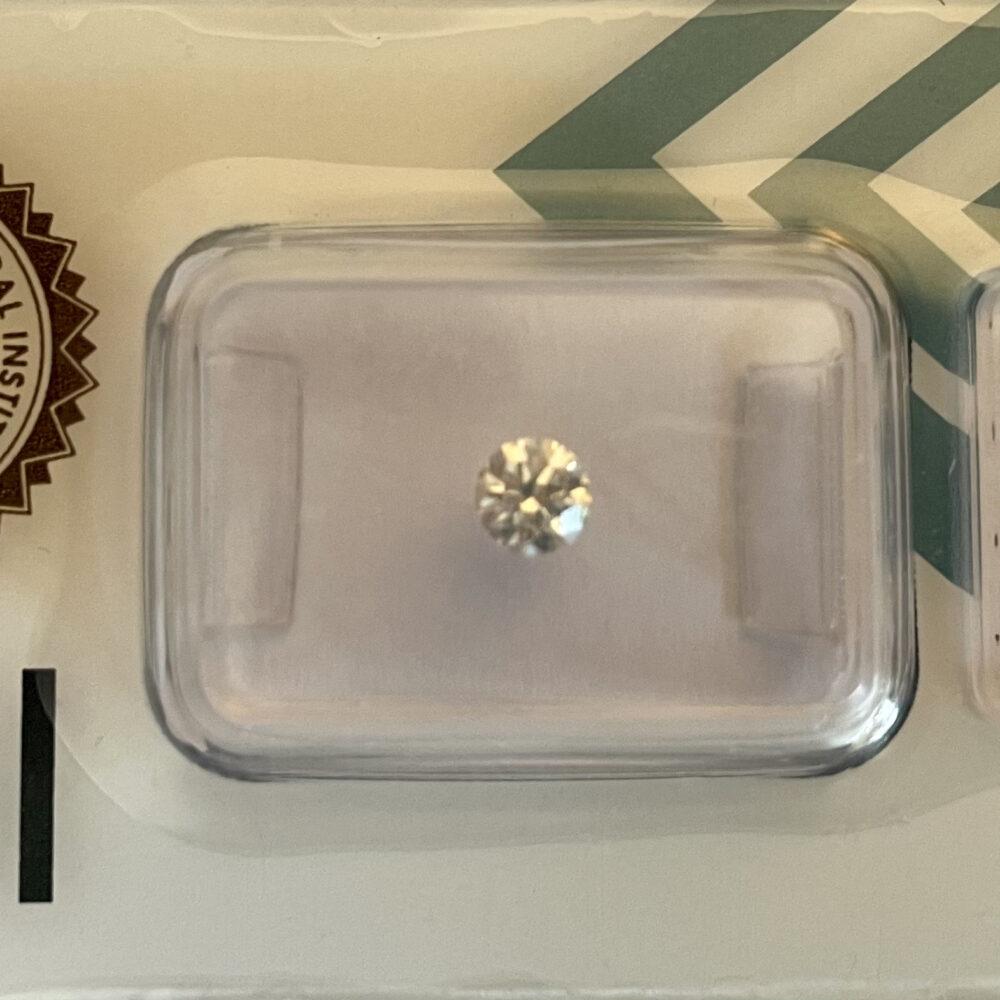diamante da 0.33 g vs1